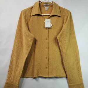 New Christopher & Banks Womens stretch Blouse